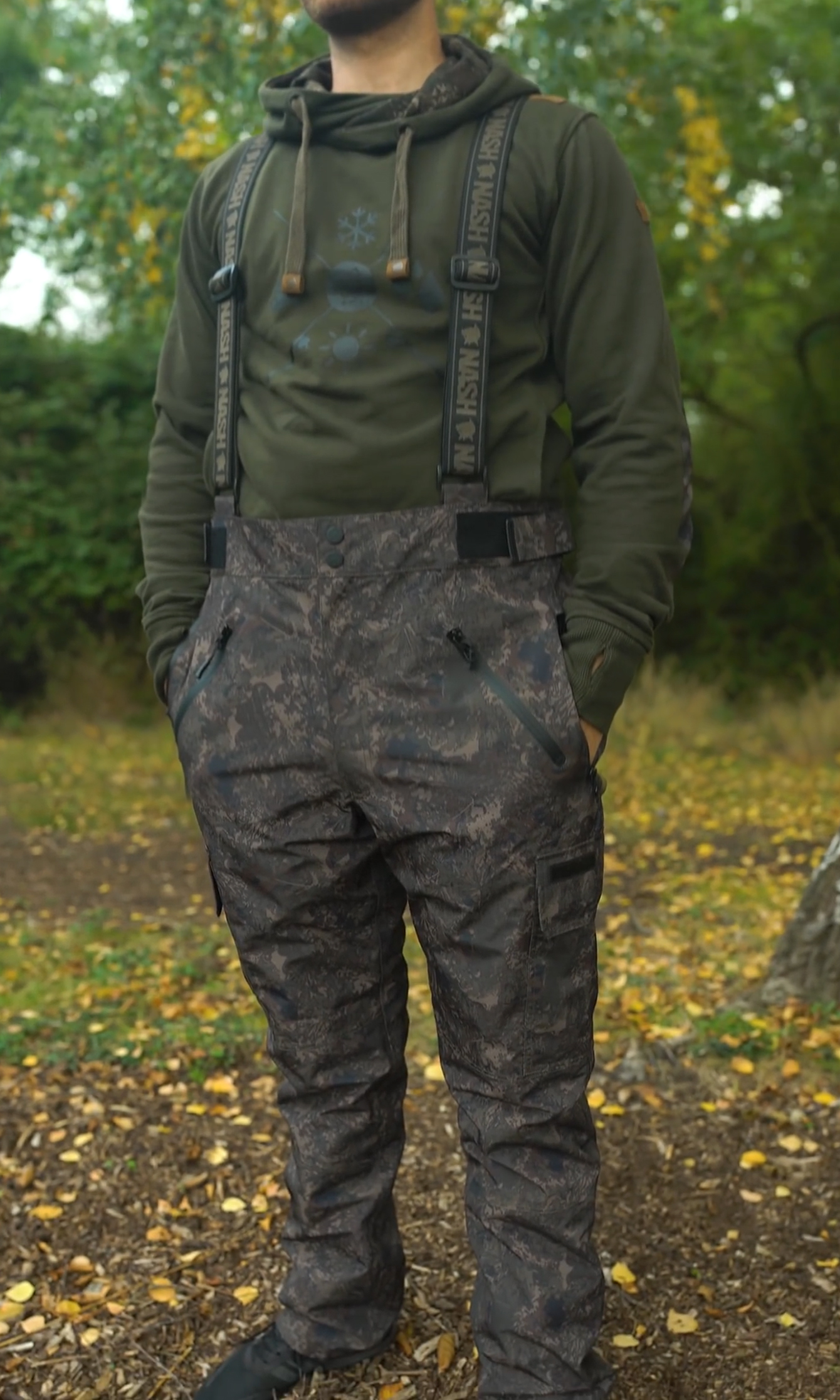 Nash ZT Mac Braced Trousers