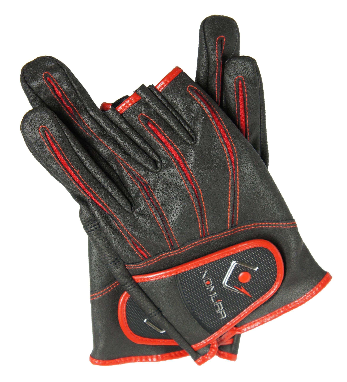 Nomura guanti 3 fingerless glove glasgow angling centre for Fingerless fishing gloves