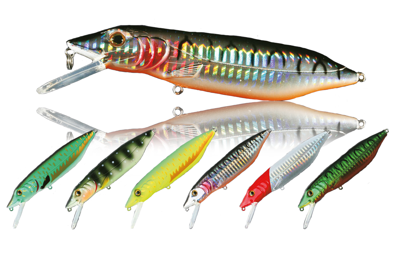 Nomura pike storm floating lures glasgow angling centre for Pike ice fishing lures