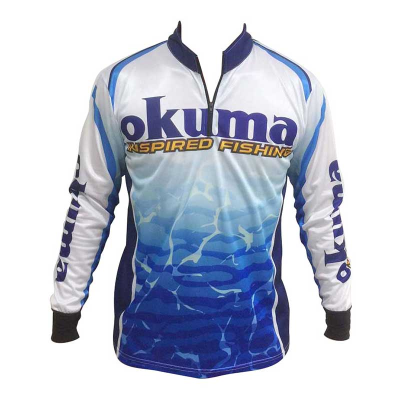 Okuma tournament shirt glasgow angling centre for Tournament fishing shirts