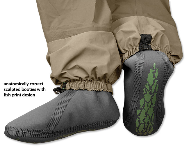 Orvis Silver Sonic Convertible Top Waders Glasgow