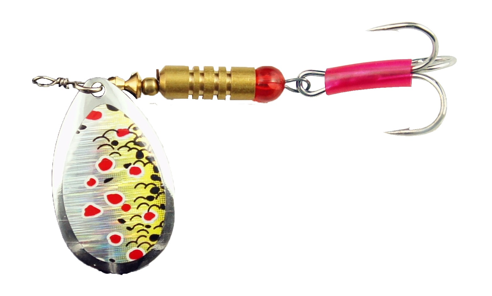 Mepps spinners glasgow angling centre for Trout fishing lures