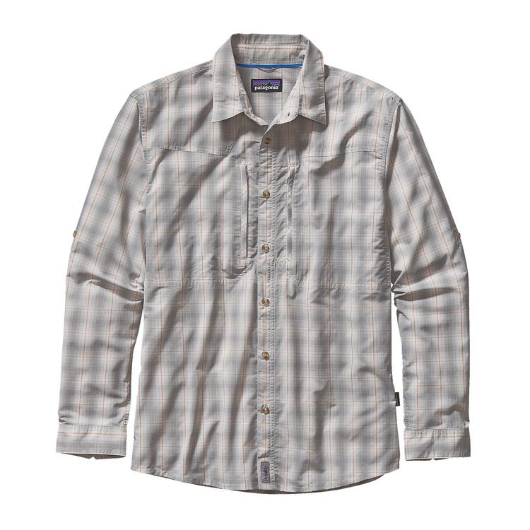 Patagonia 2015 m 39 s l s sun stretch shirt glasgow angling for Patagonia fly fishing shirt
