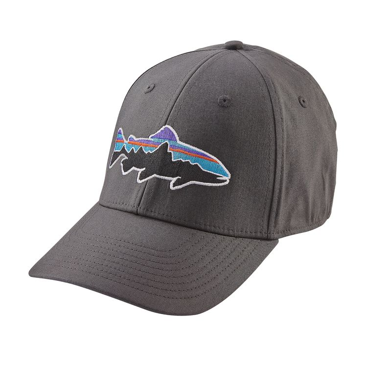 Patagonia fitz roy trout stretch fit hat glasgow angling for Patagonia fly fishing hat