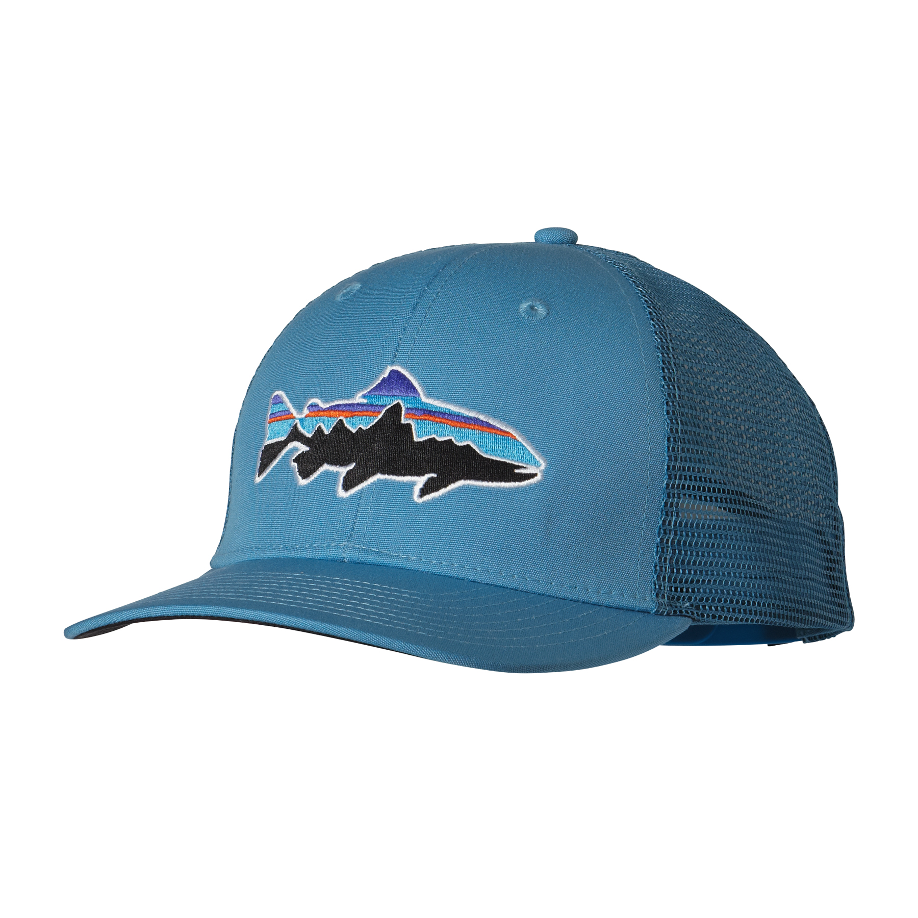 89fad14a4a6 Patagonia Fitz Roy Trout Trucker Hat – Glasgow Angling Centre