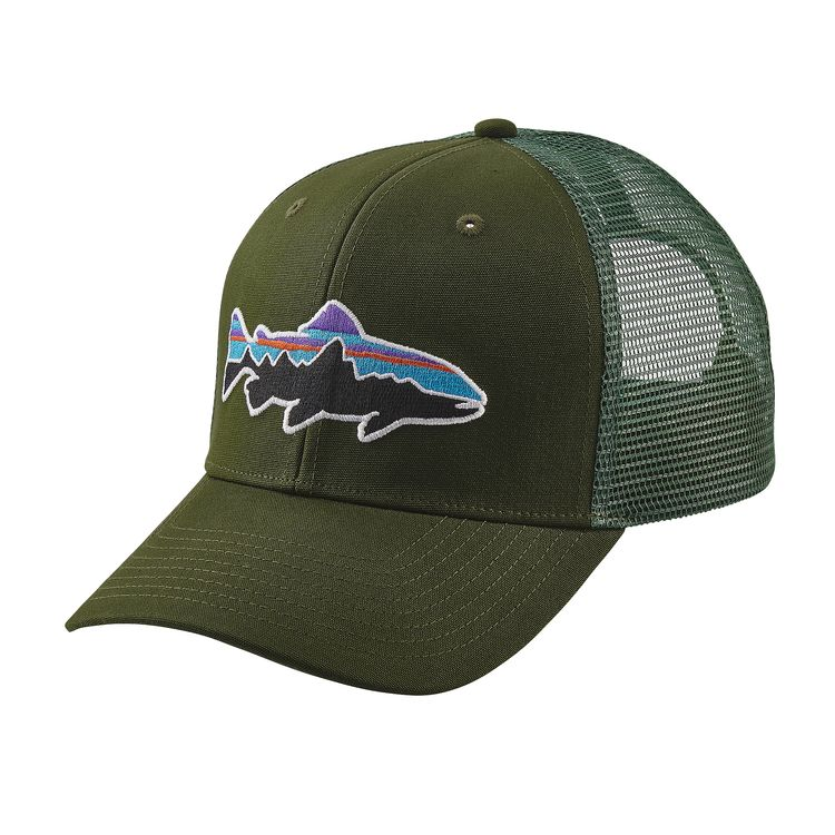 Patagonia Fitz Roy Trout Trucker Hat – Glasgow Angling Centre 072c79e1166