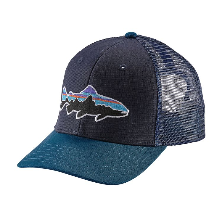 Patagonia Fitz Roy Trout Trucker Hat – Glasgow Angling Centre d953d9c84aa