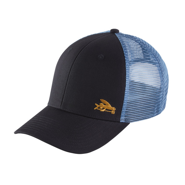 Patagonia flying fish trucker hat glasgow angling centre for Patagonia fly fishing hat