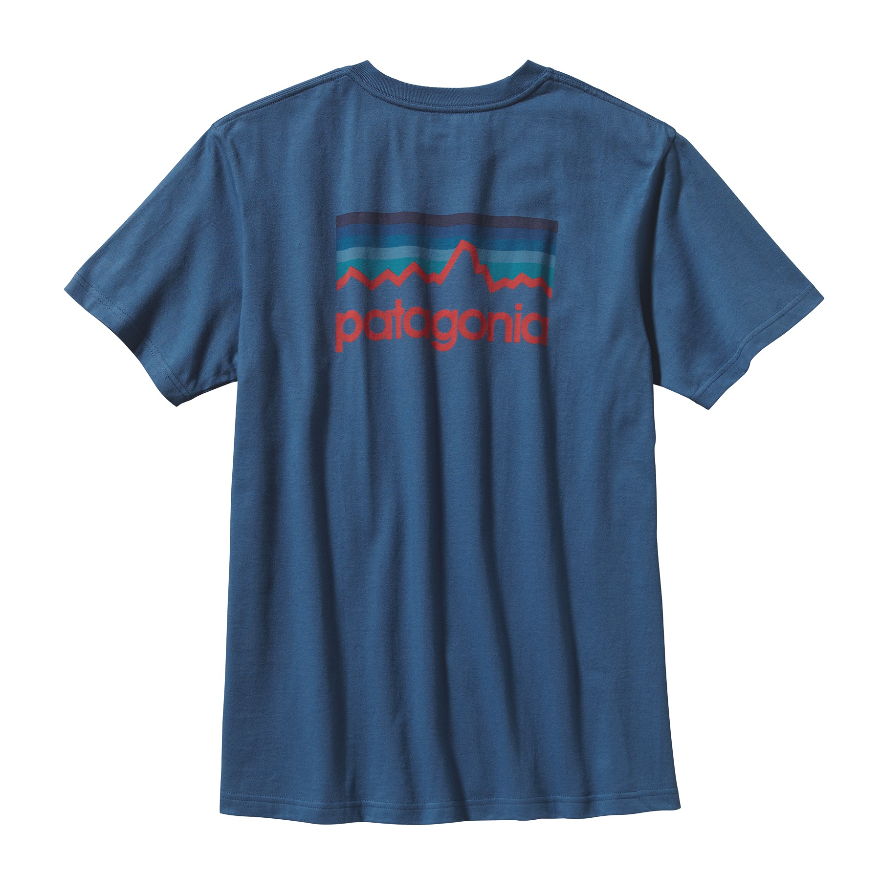 patagonia m 39 s line logo t shirt glasgow angling centre. Black Bedroom Furniture Sets. Home Design Ideas
