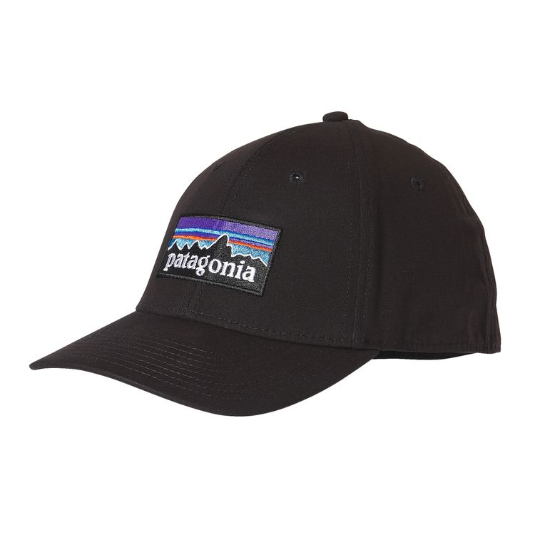 Patagonia P-6 Logo Stretch Fit Hat – Glasgow Angling Centre dd2efe36287