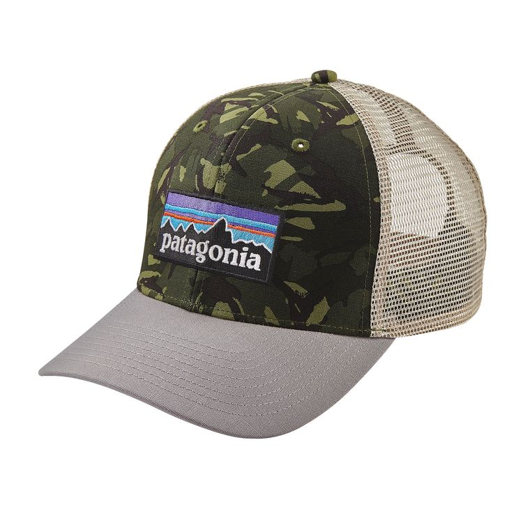 b4a62412ab6 ... coupon code for p6 trucker hat big camo fatigue green with drifter grey p6  trucker hat