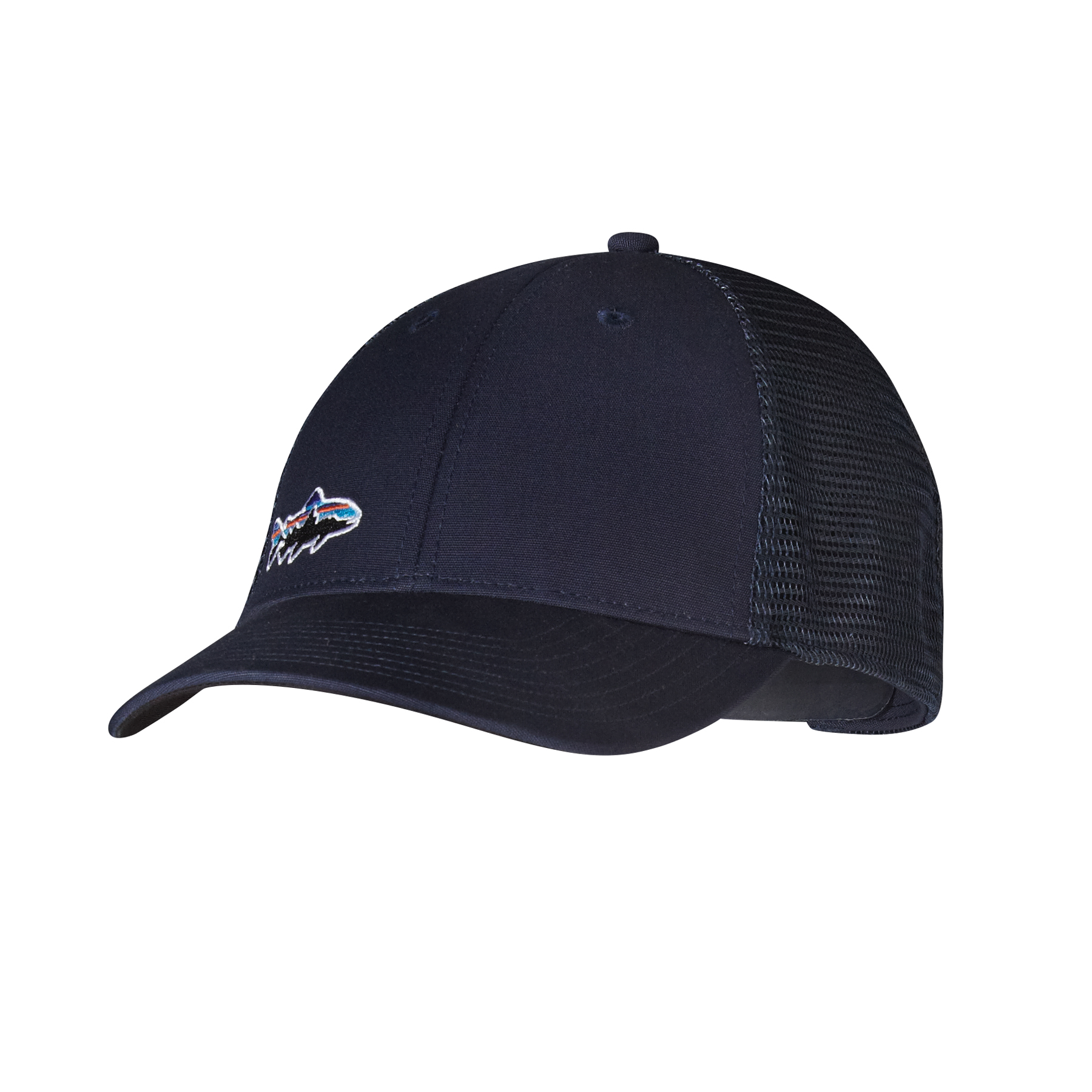 Patagonia s fitzroy trout lopro trucker hat glasgow for Patagonia fish hat