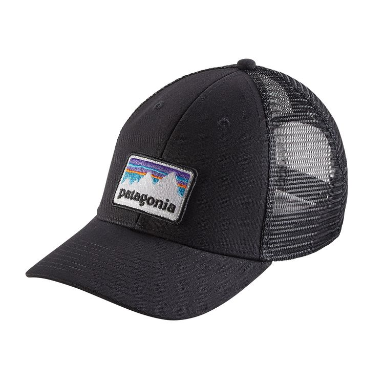 7bd400b793d658 Patagonia Shop Sticker Patch LoPro Trucker Hat – Glasgow Angling Centre