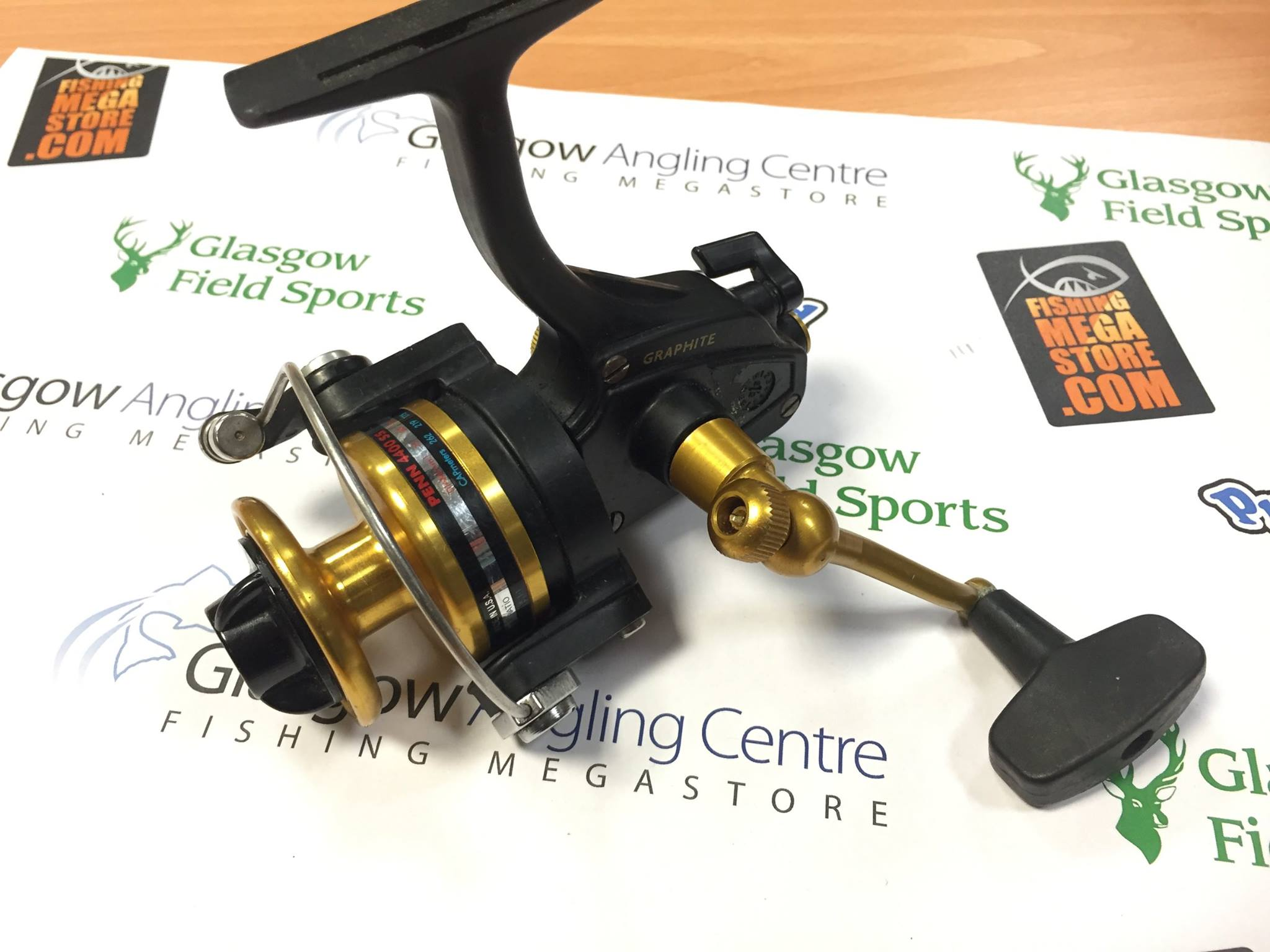 Preloved penn spinfisher 4400ss spinning reel used for Used fishing reels