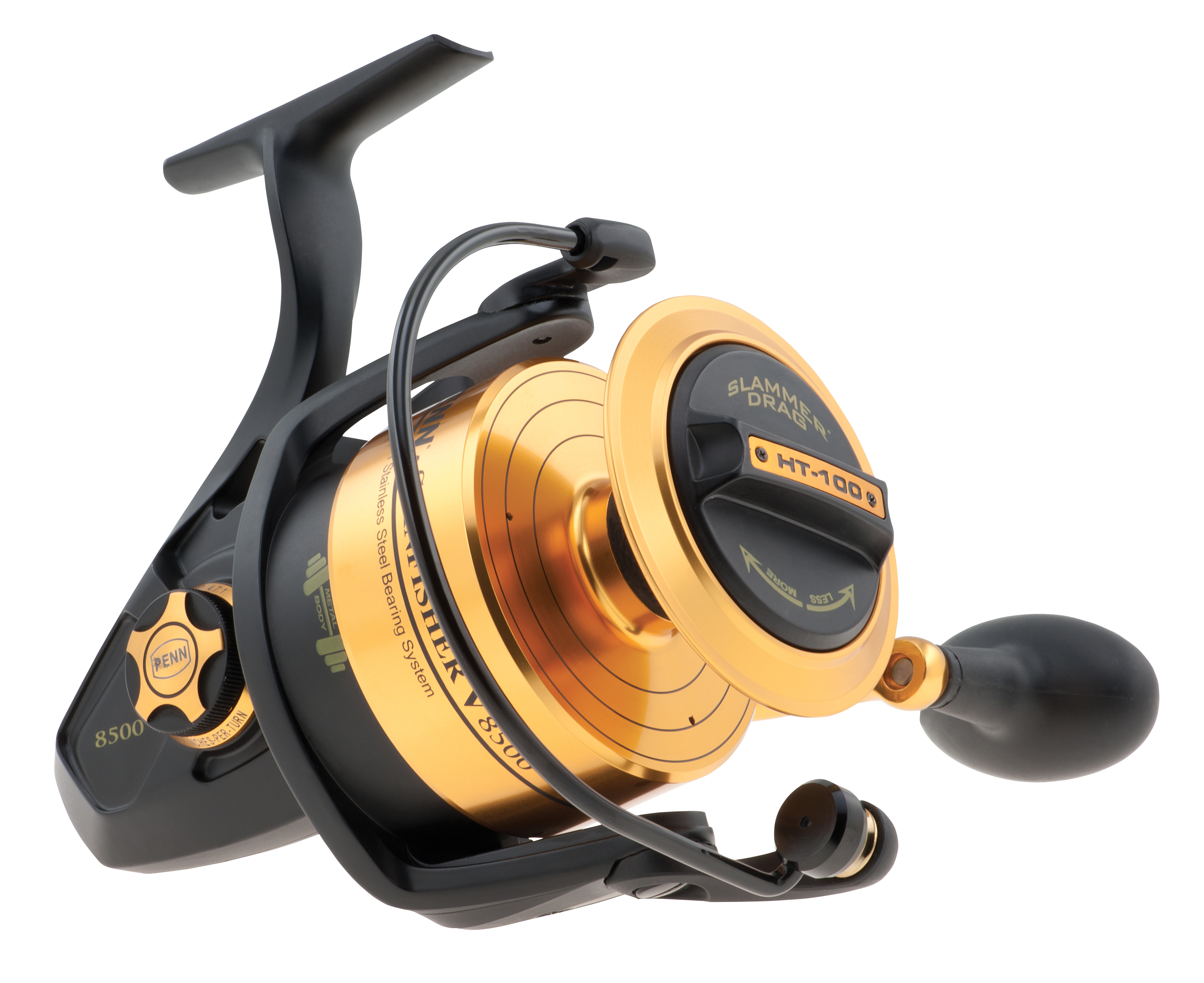 Penn spinfisher v spinning reel glasgow angling centre for Fishing pole reel