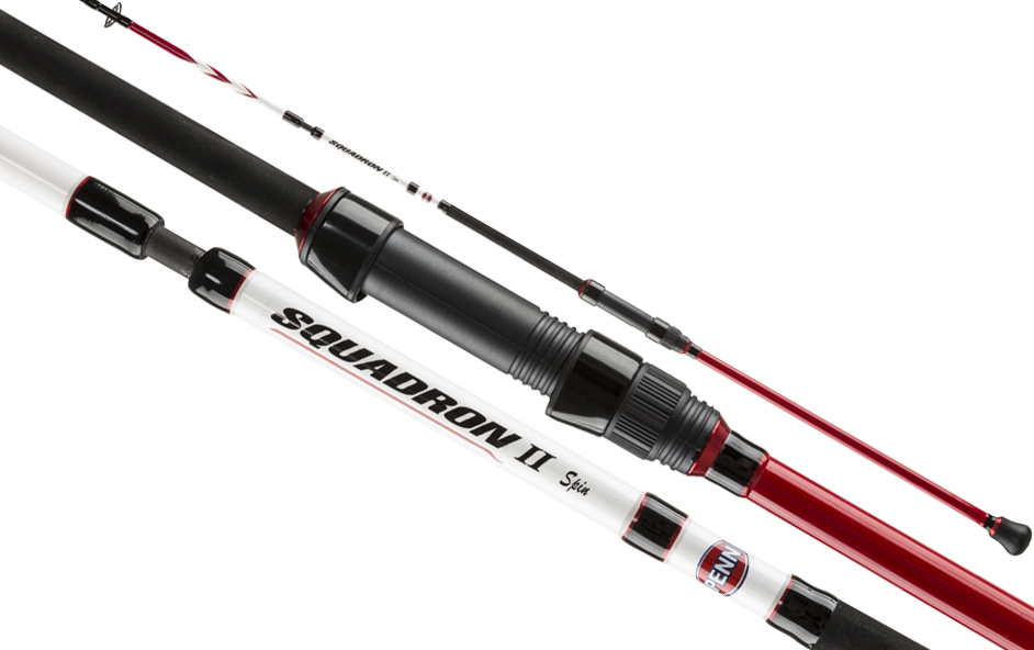 Penn squadron ii spinning rod 9ft 2pc glasgow angling centre for Penn fishing rod