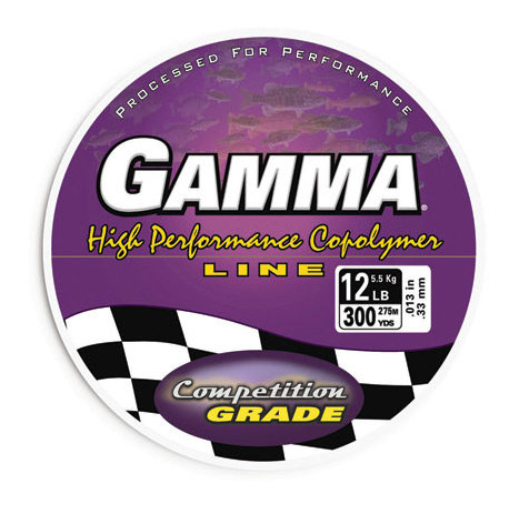 Deal of the week gamma high performance copolymer line for Gamma fishing line