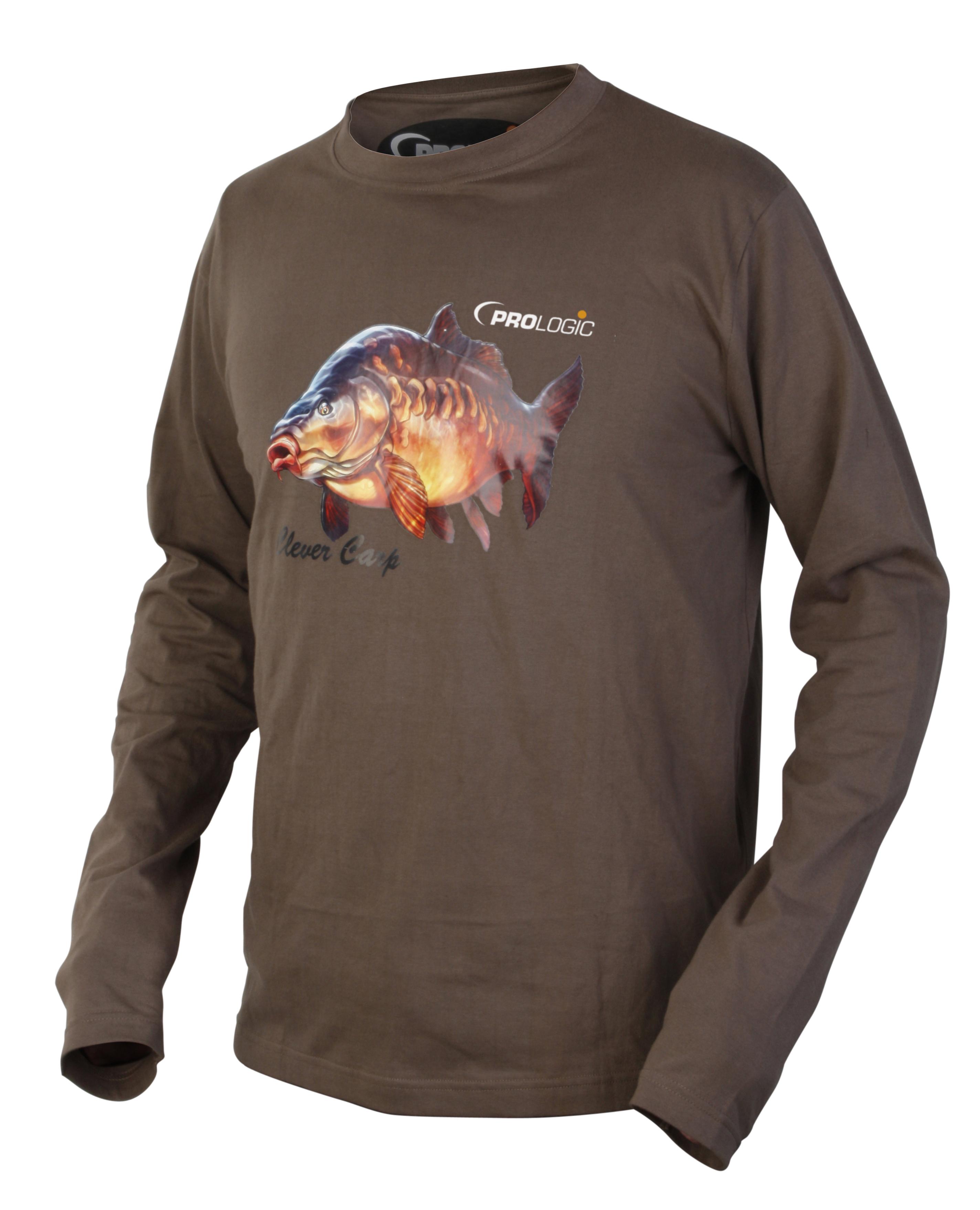 Prologic born 2 fish long sleeve t shirt glasgow angling for Long sleeve fishing shirts