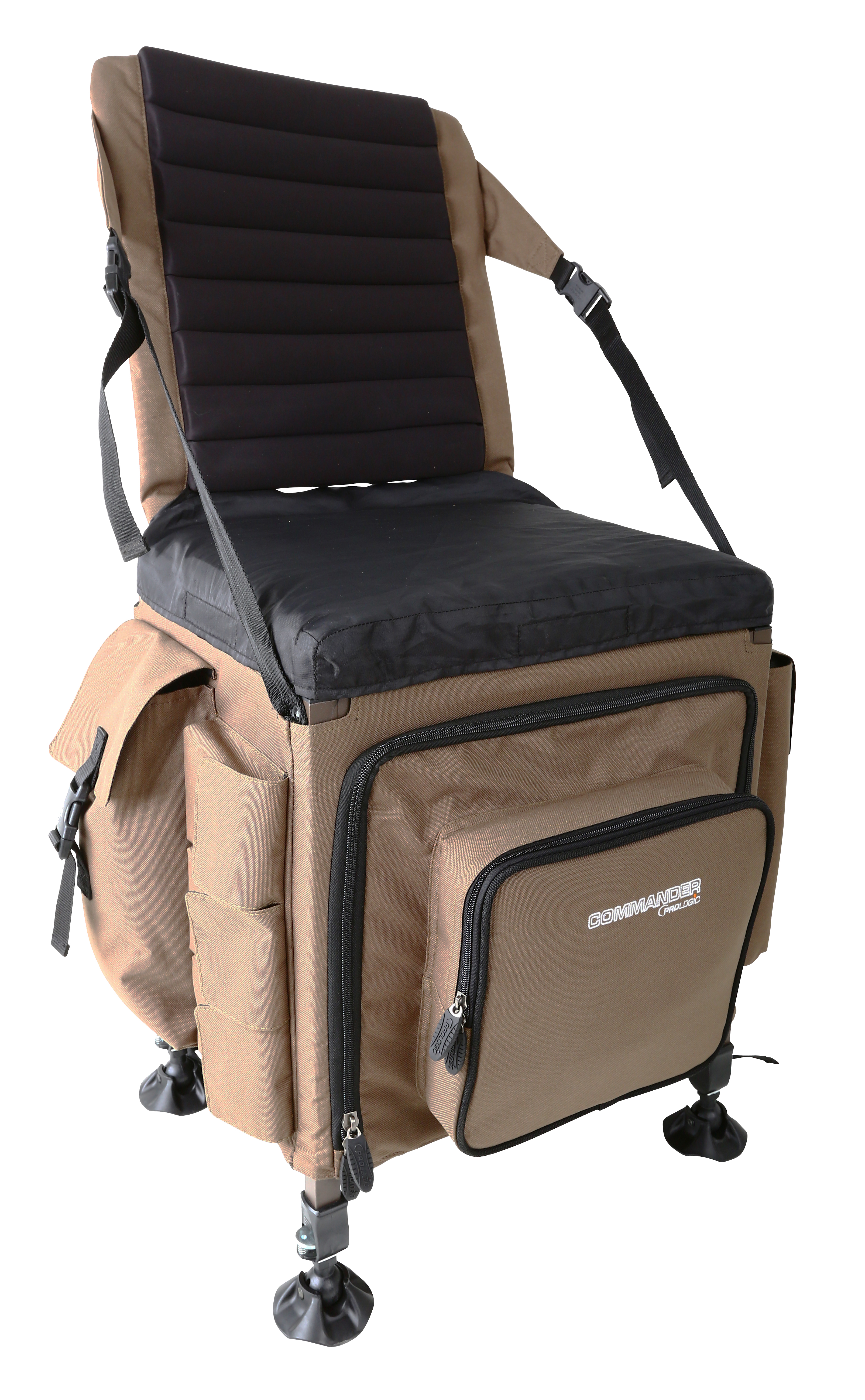 Prologic commander chair amp backpack 87x53x40cm glasgow angling