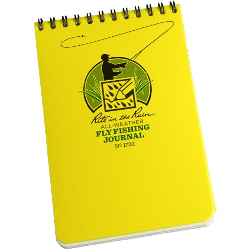 Rite in the rain outdoor fly fishing journal glasgow for Fly fishing journal