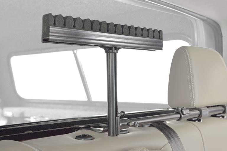 Rod up interior rod rack for car glasgow angling centre for Fishing rod holder for suv
