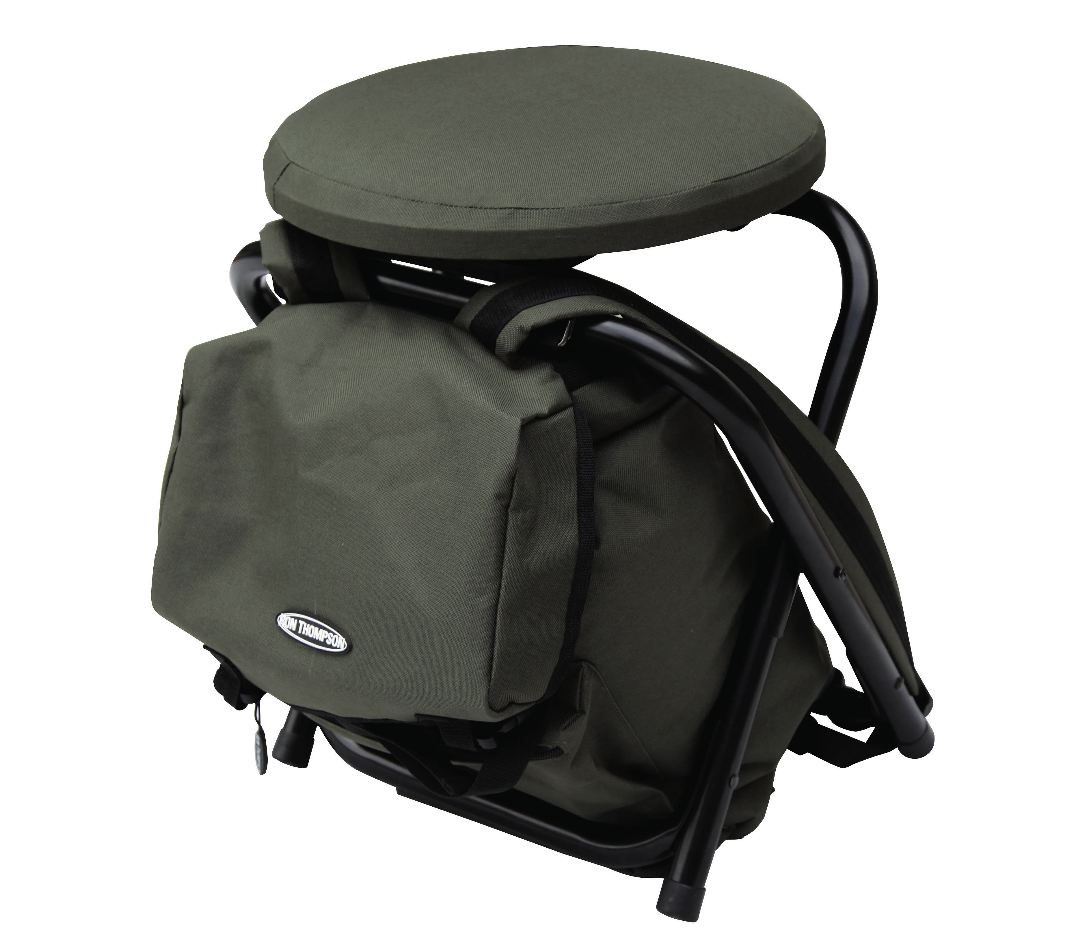 Ron Thompson Heavy Duty Backpack Chair Glasgow Angling