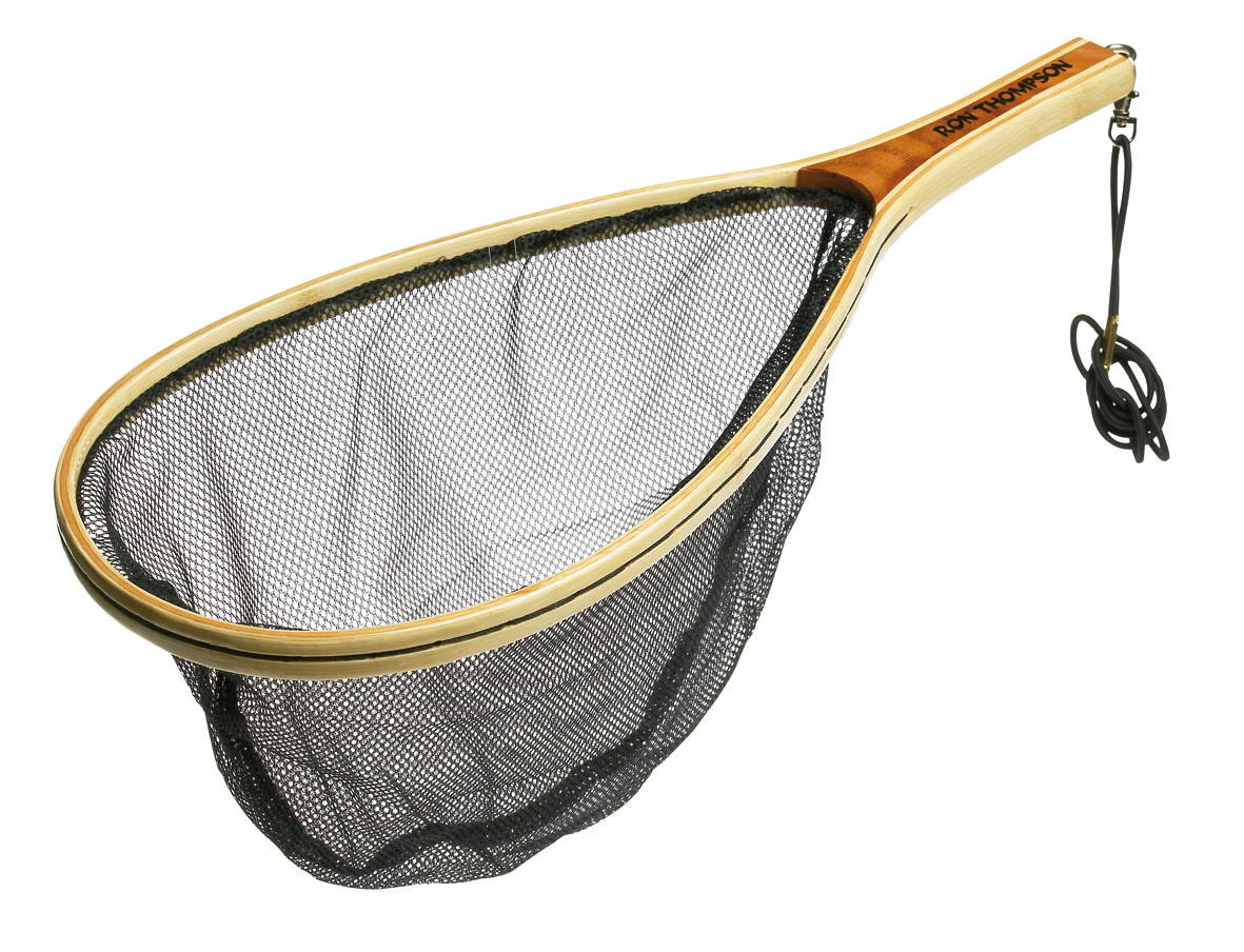 Ron thompson wooden handled nets glasgow angling centre for Wooden fishing net