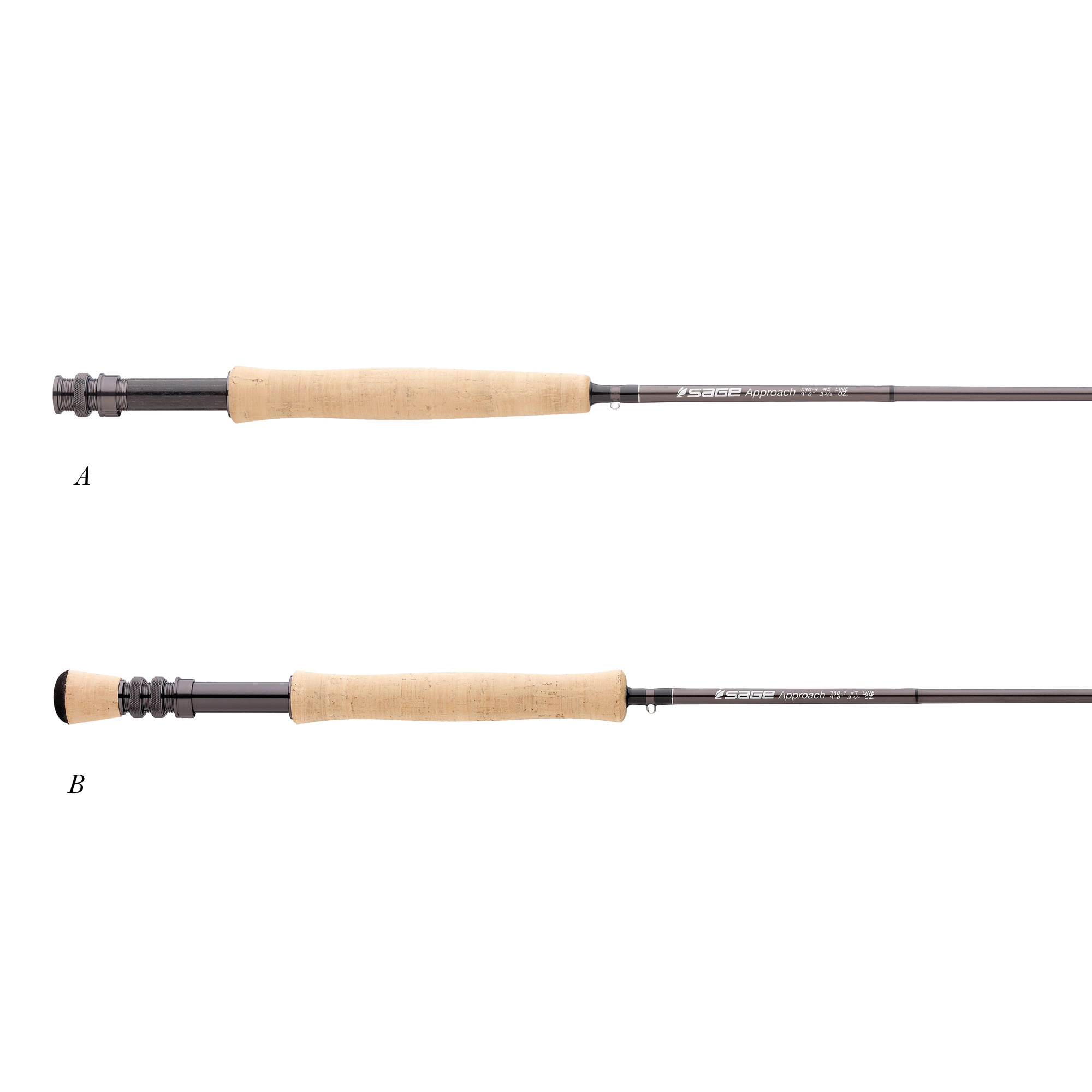 Sage approach series fly rods glasgow angling centre for Fly fishing with spinning rod