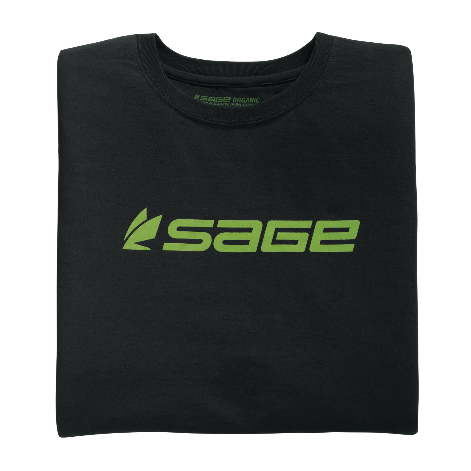 sage logo tshirt � glasgow angling centre