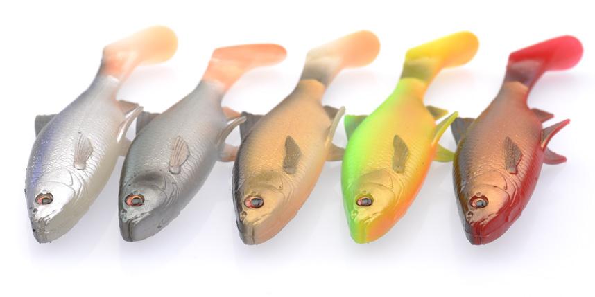 Savage Gear 3D River Roach Paddle Tail 18cm 22cm