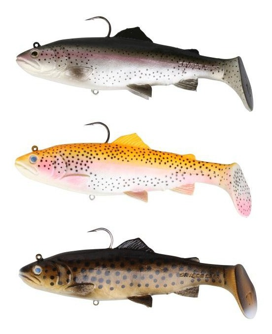 Savage gear 3d trout rattle shad glasgow angling centre for Trout fishing supplies