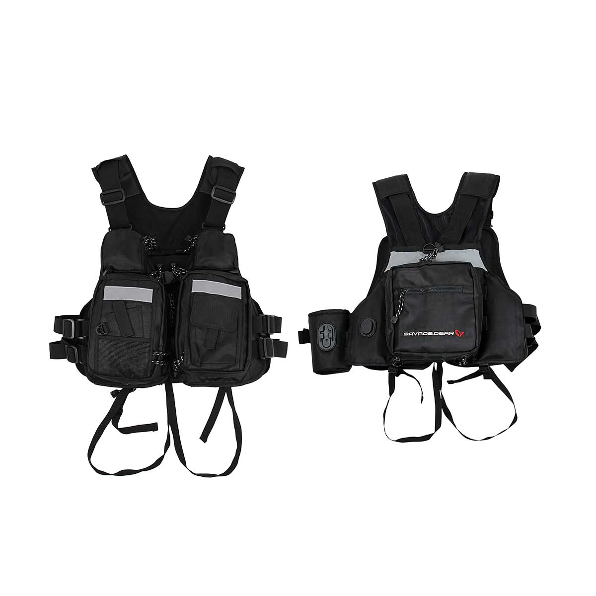 Savage gear hitch hiker fishing vest one size glasgow for Savage fishing gear