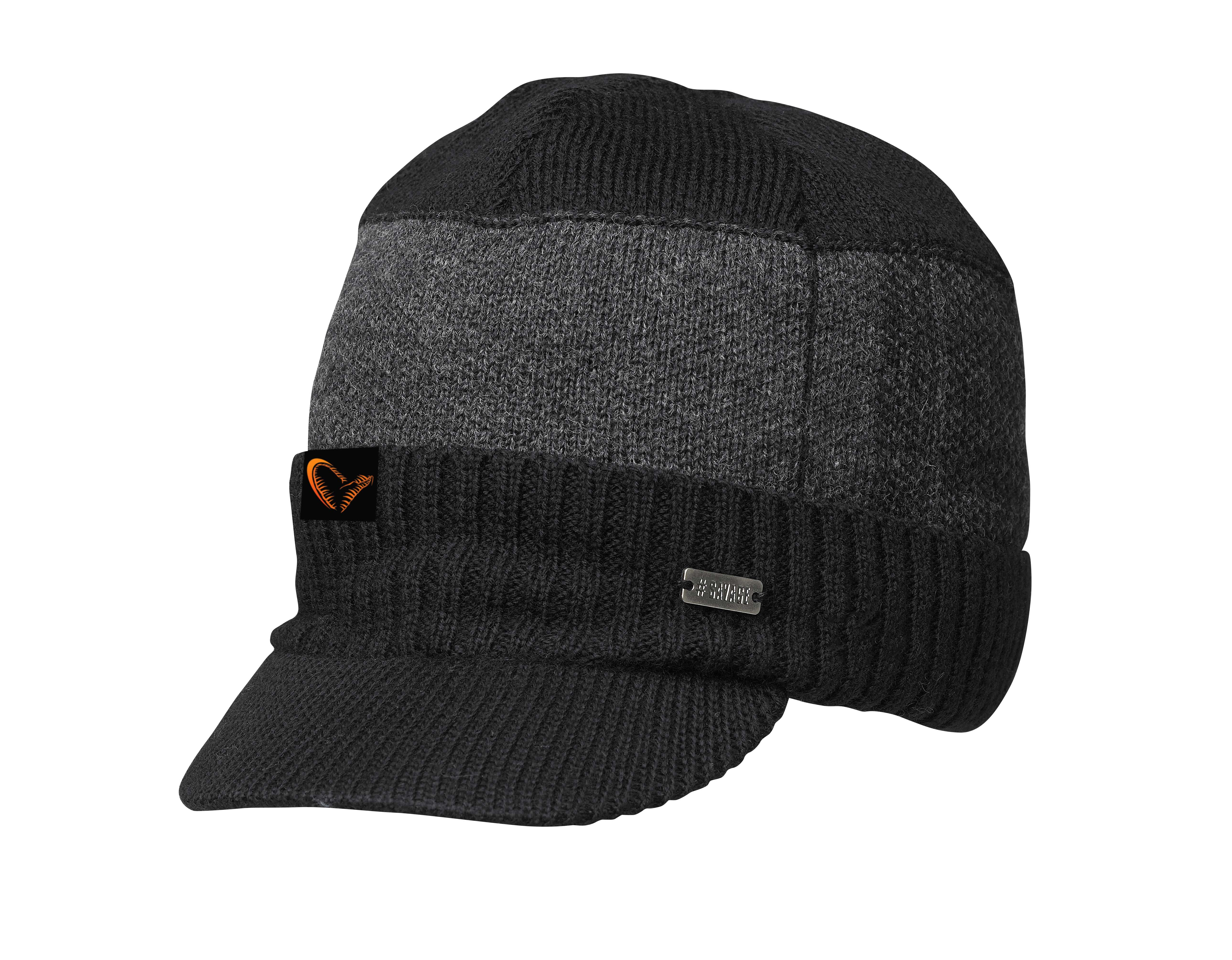 Savage Gear Knitted Brim Beanie – Glasgow Angling Centre 770d0d33d5