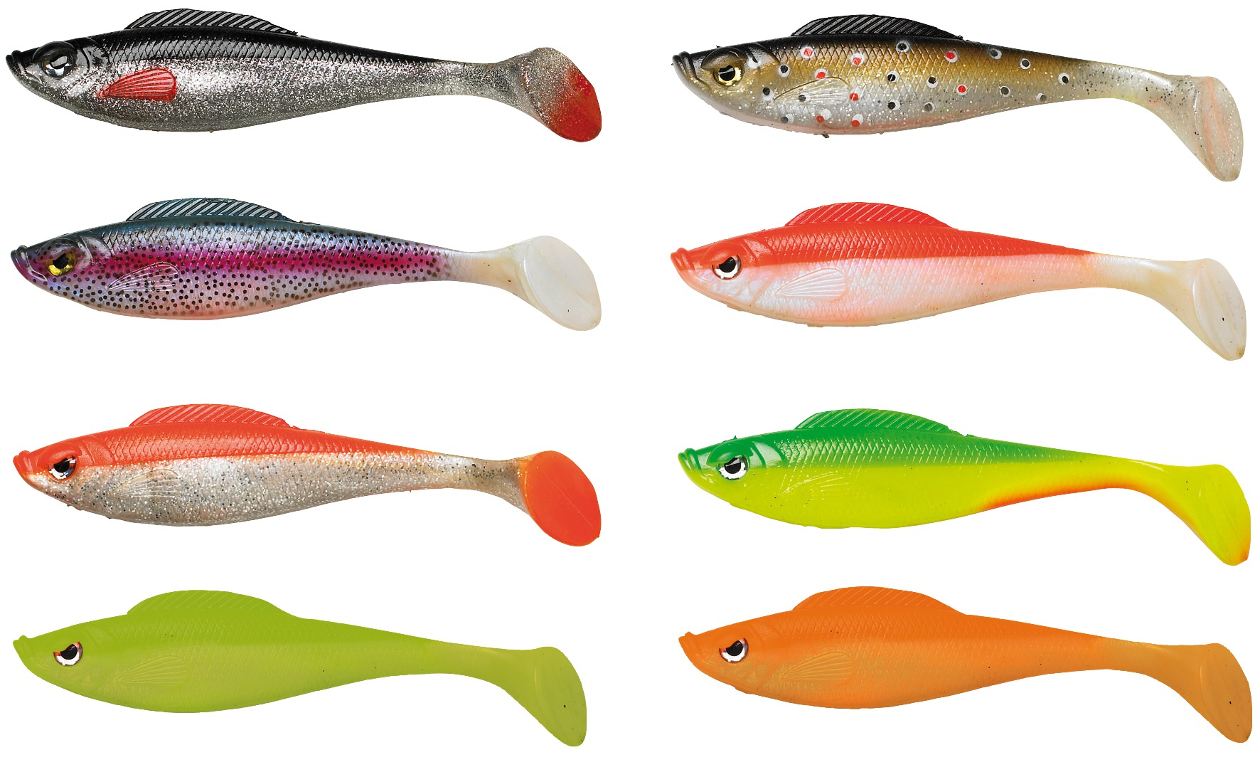 Savage gear loose body swimmer shad lures glasgow for Shad fishing rigs