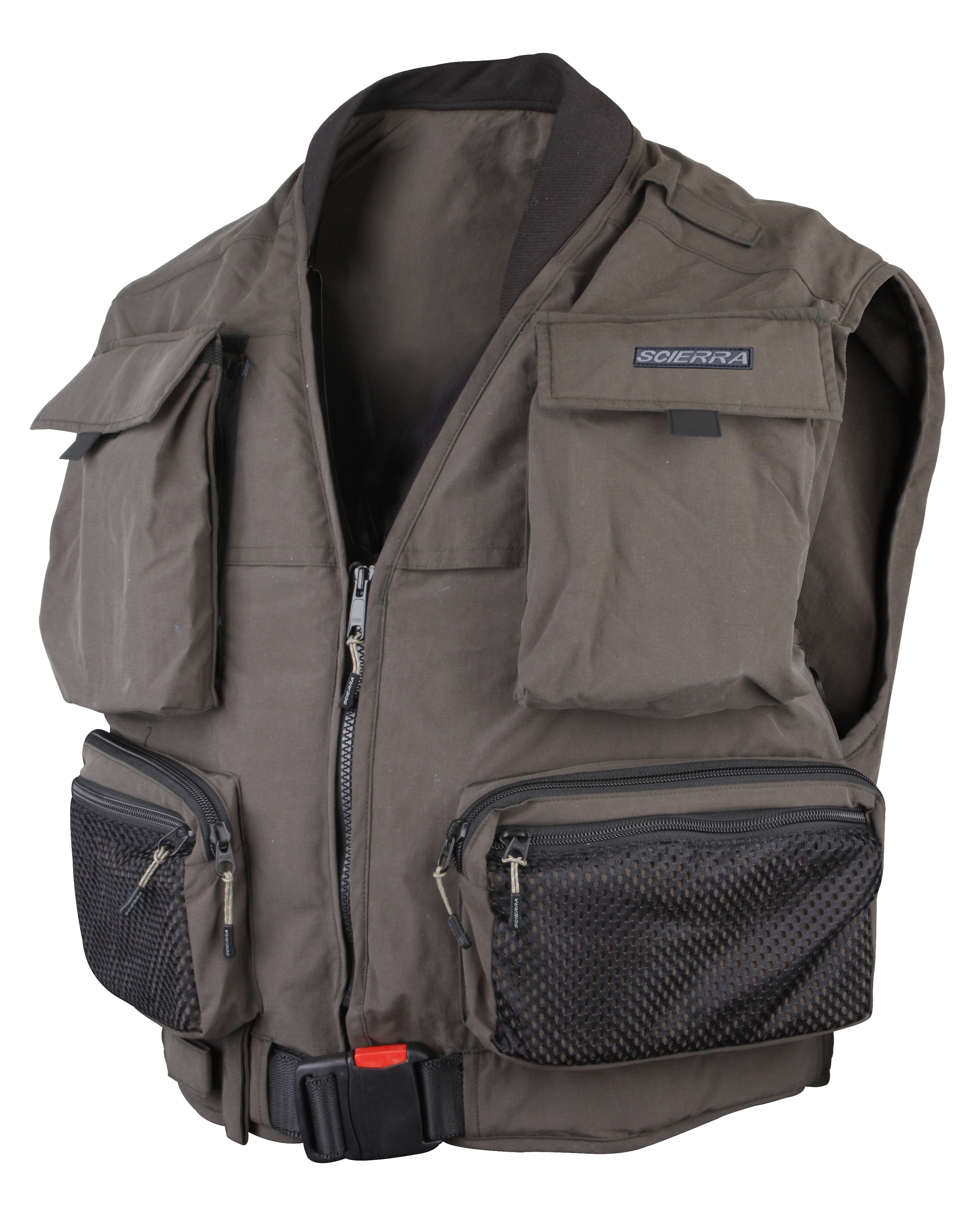 Scierra life fly vest glasgow angling centre for Best inflatable life vest for fishing