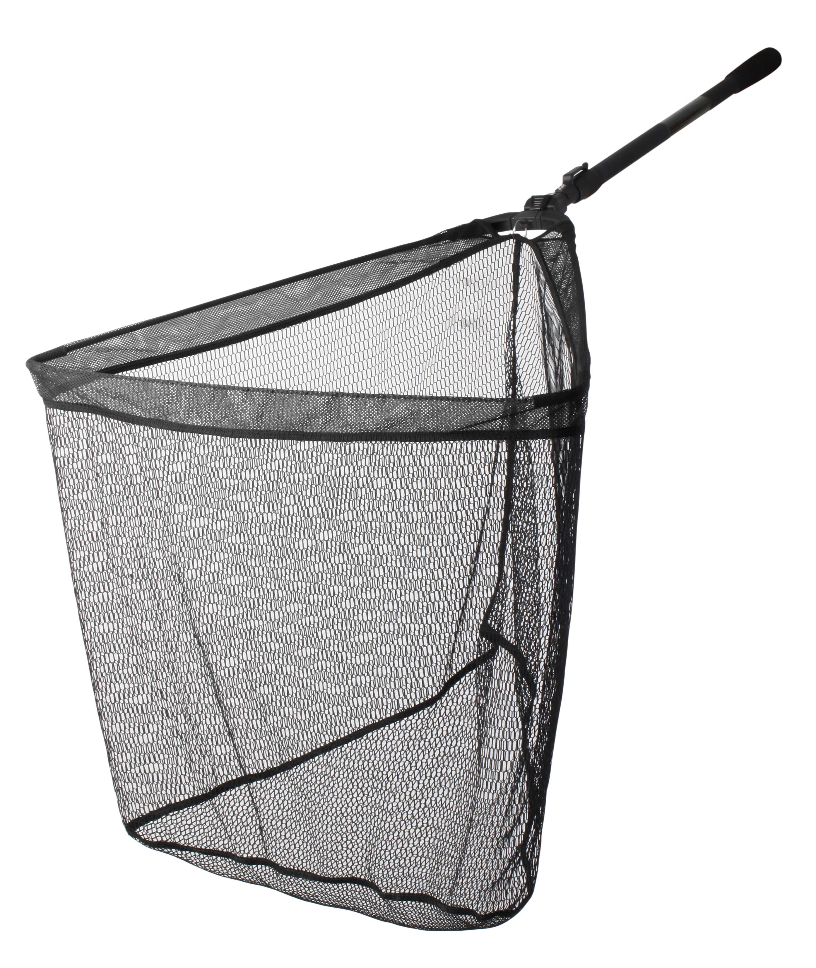 Landing nets folding nets mesh nets glasgow angling centre for Collapsible fishing net
