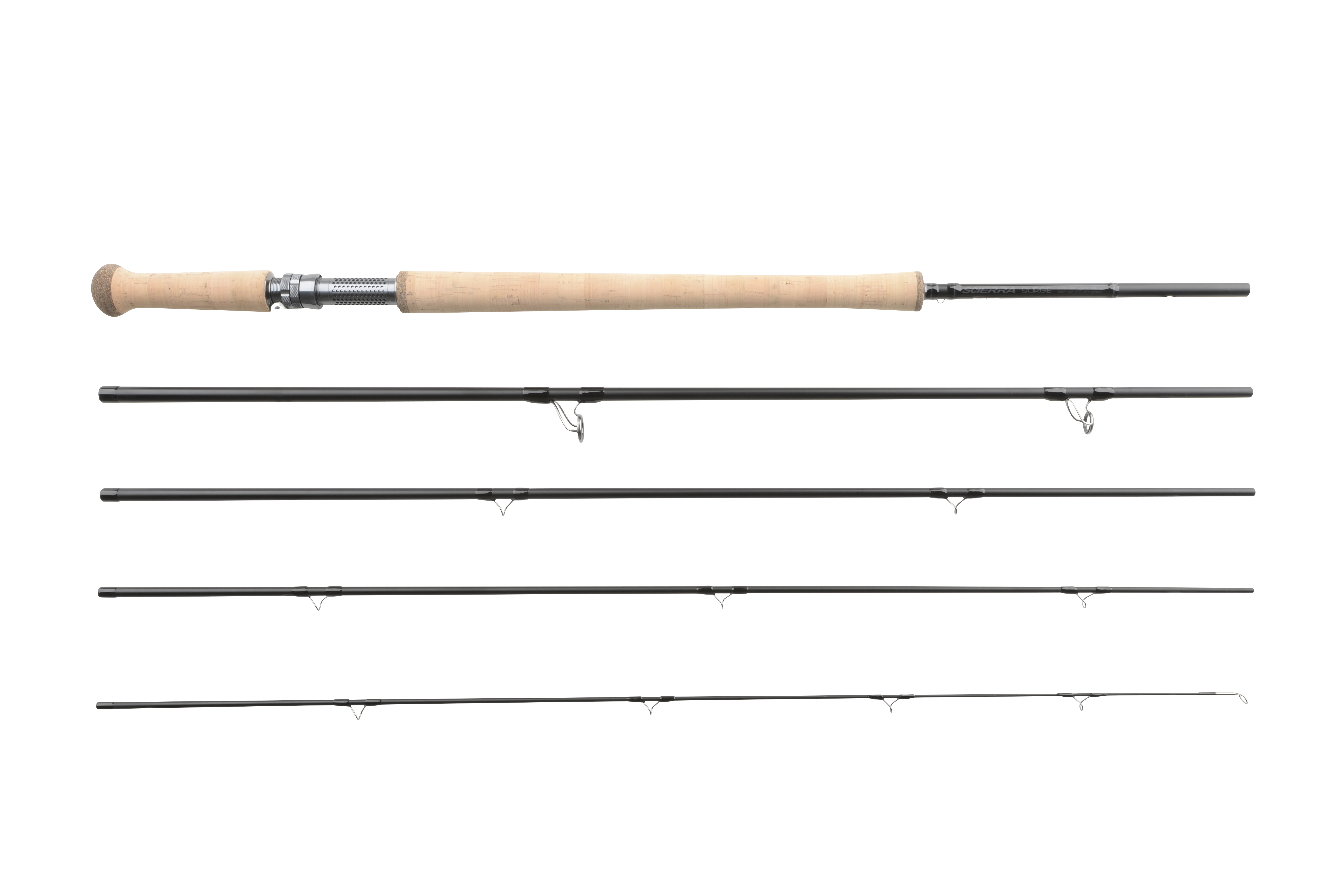 Scierra surge double hand fly rod series glasgow angling for Fly fishing with spinning rod