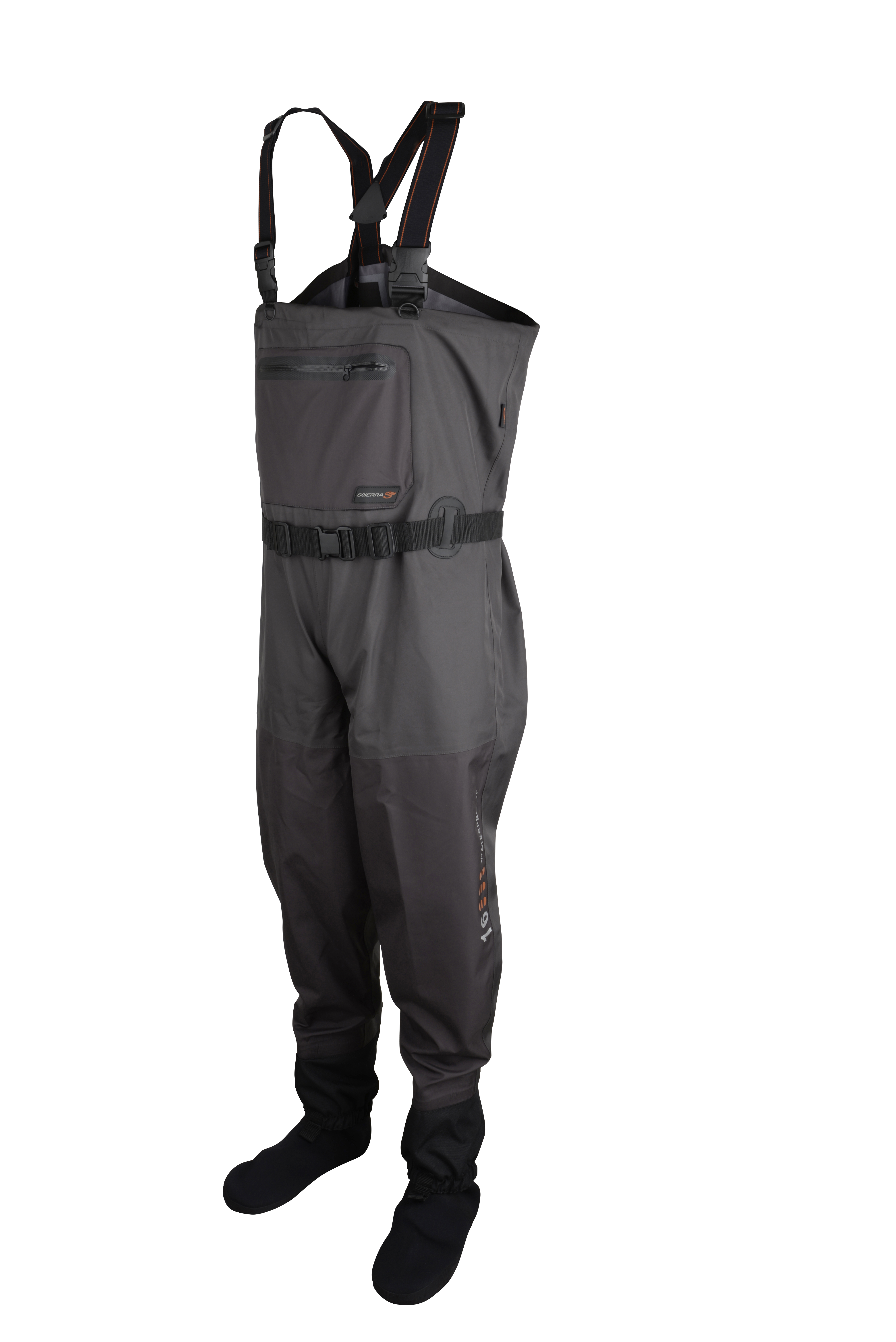 Scierra x 16000 stockingfoot chest waders glasgow for Chest waders for fishing