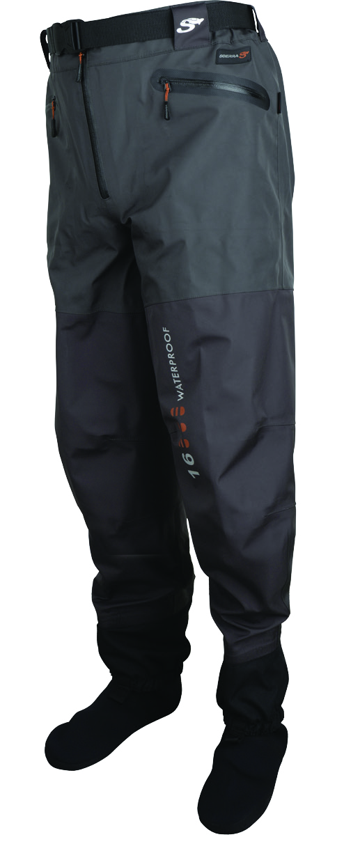 many sizes Scierra X-16000 Stocking Foot Waist Waders Polyester