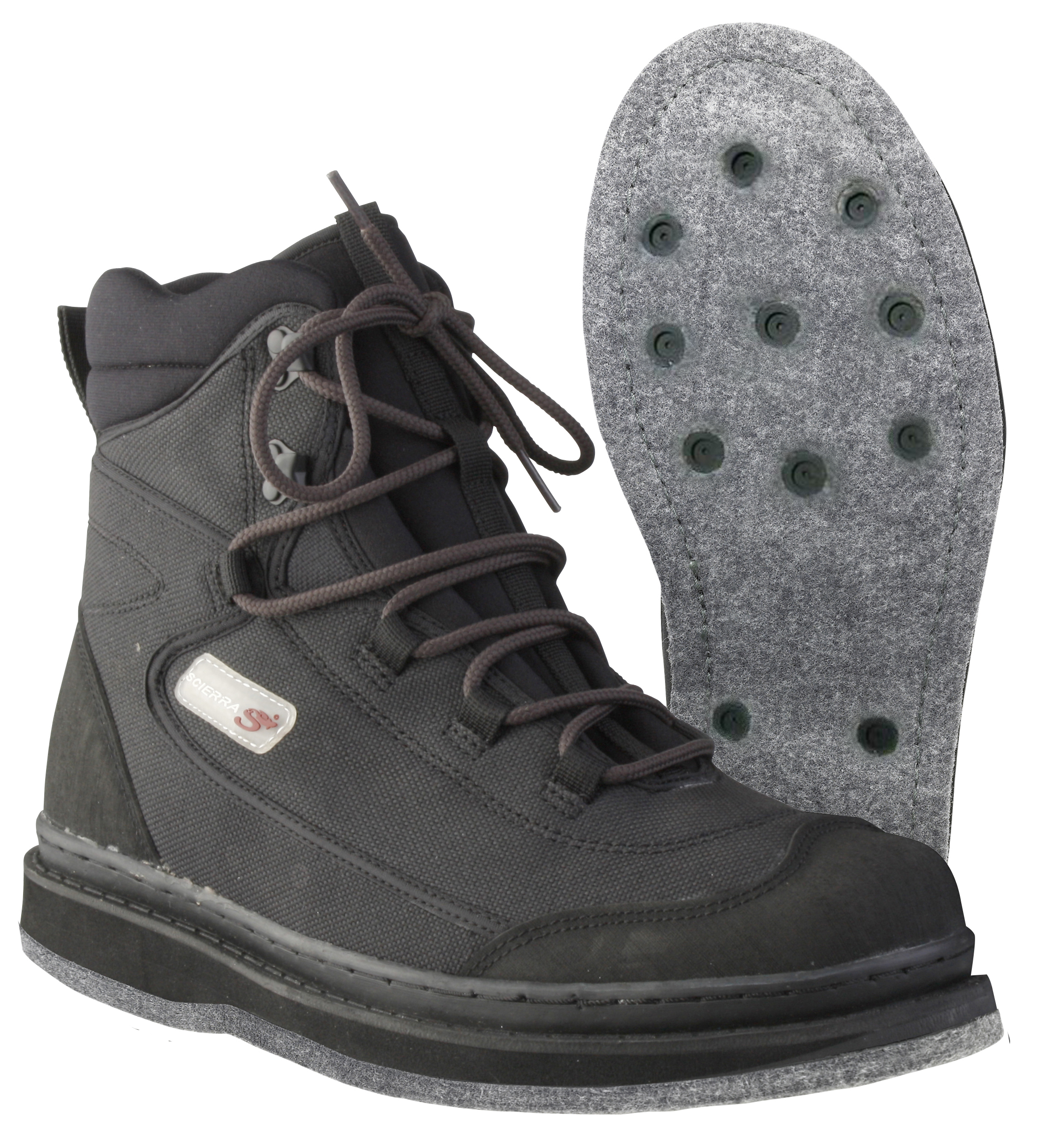 Scierra X Trail Felt Sole Wading Boots With Detachable
