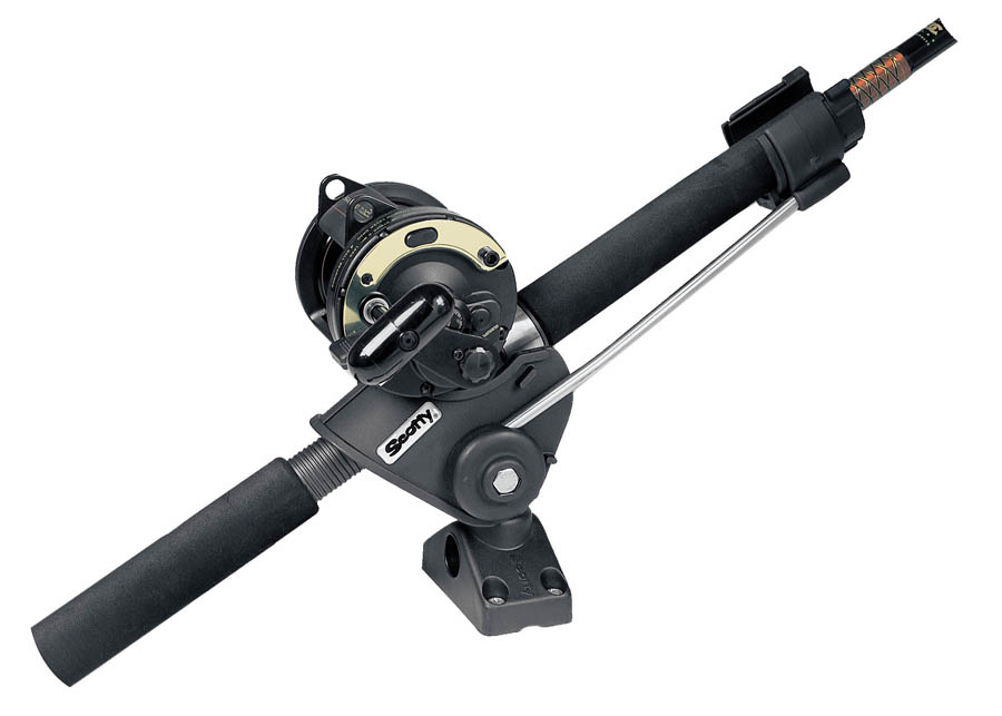 Scotty striker rod holder w 241 side deck mount glasgow for Scotty fishing rod holder
