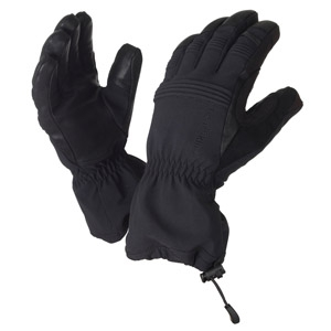Sealskinz extreme cold weather glove black glasgow for Cold weather fishing gloves