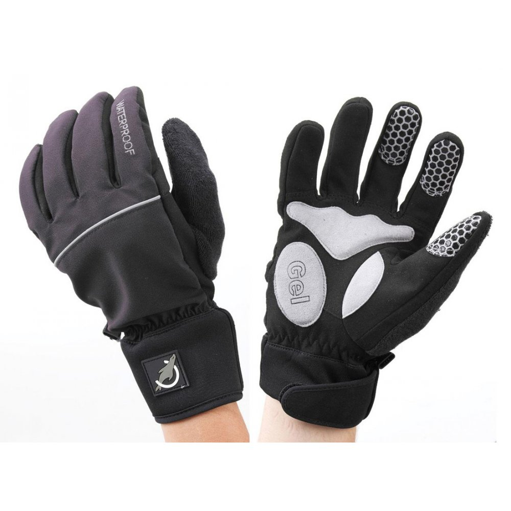 Sealskinz winter cycle glove black glasgow angling centre for Winter fishing gloves
