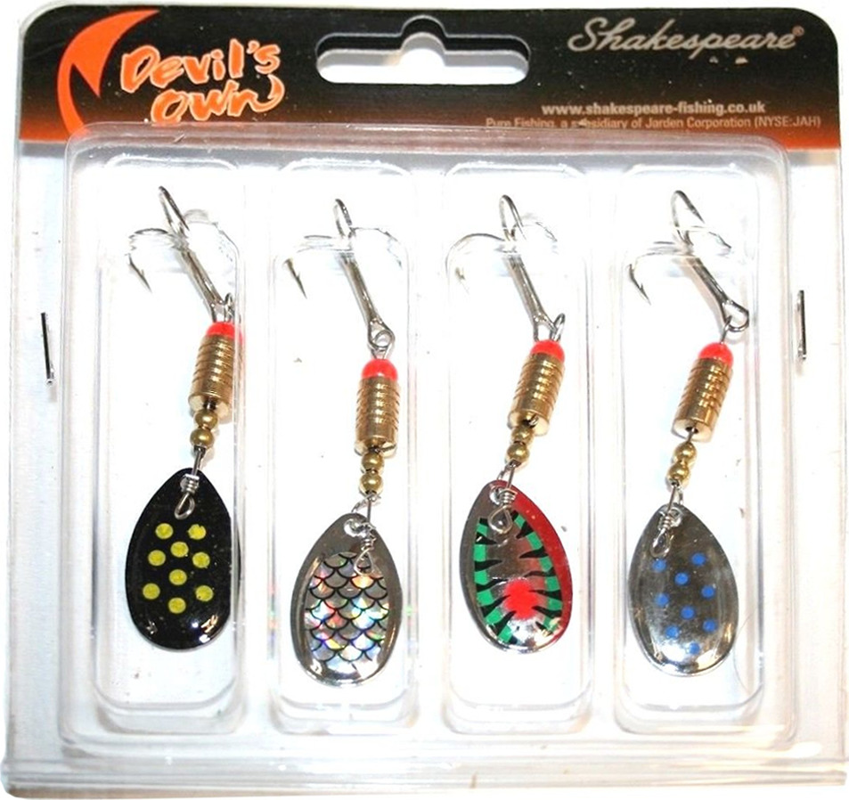 4 Piece Spinner Selection