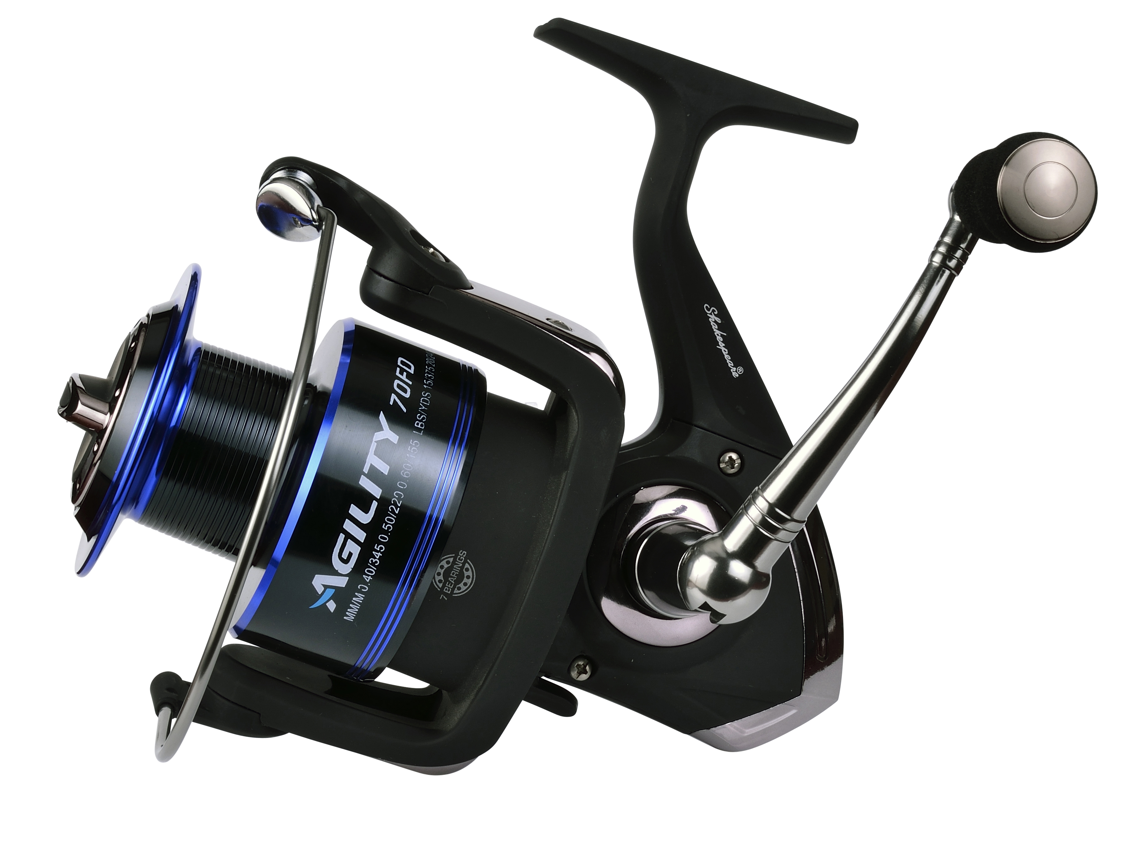 Shakespeare Agility Fixed Spool Reels - Glasgow Angling Centre
