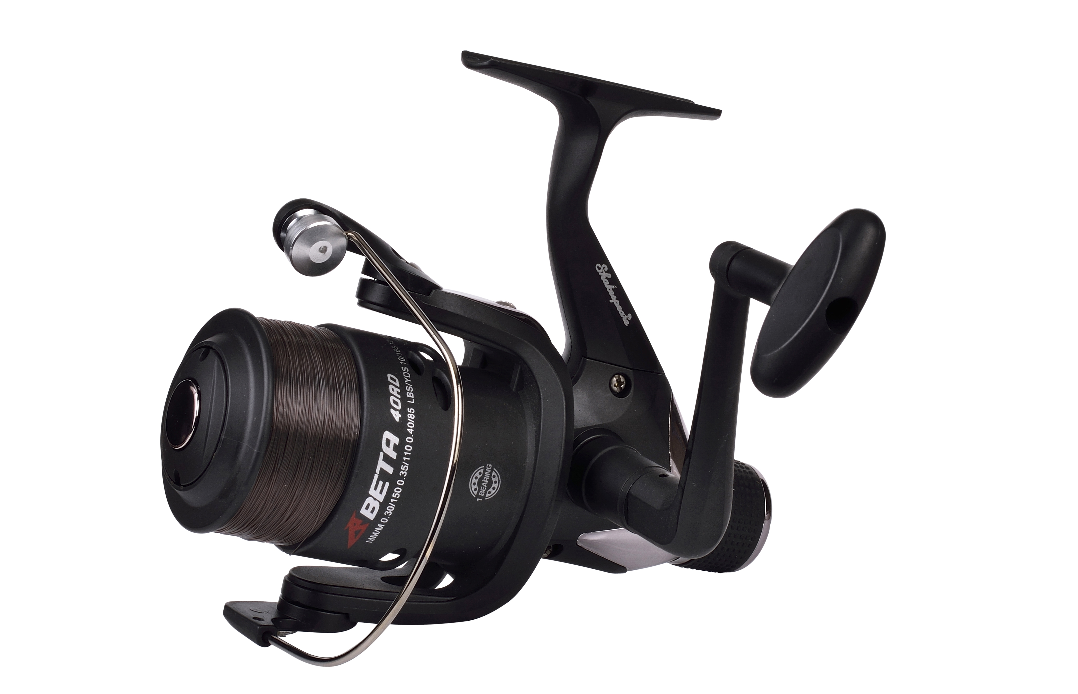 Shakespeare beta rear drag spinning reel glasgow angling for Fishing pole reel