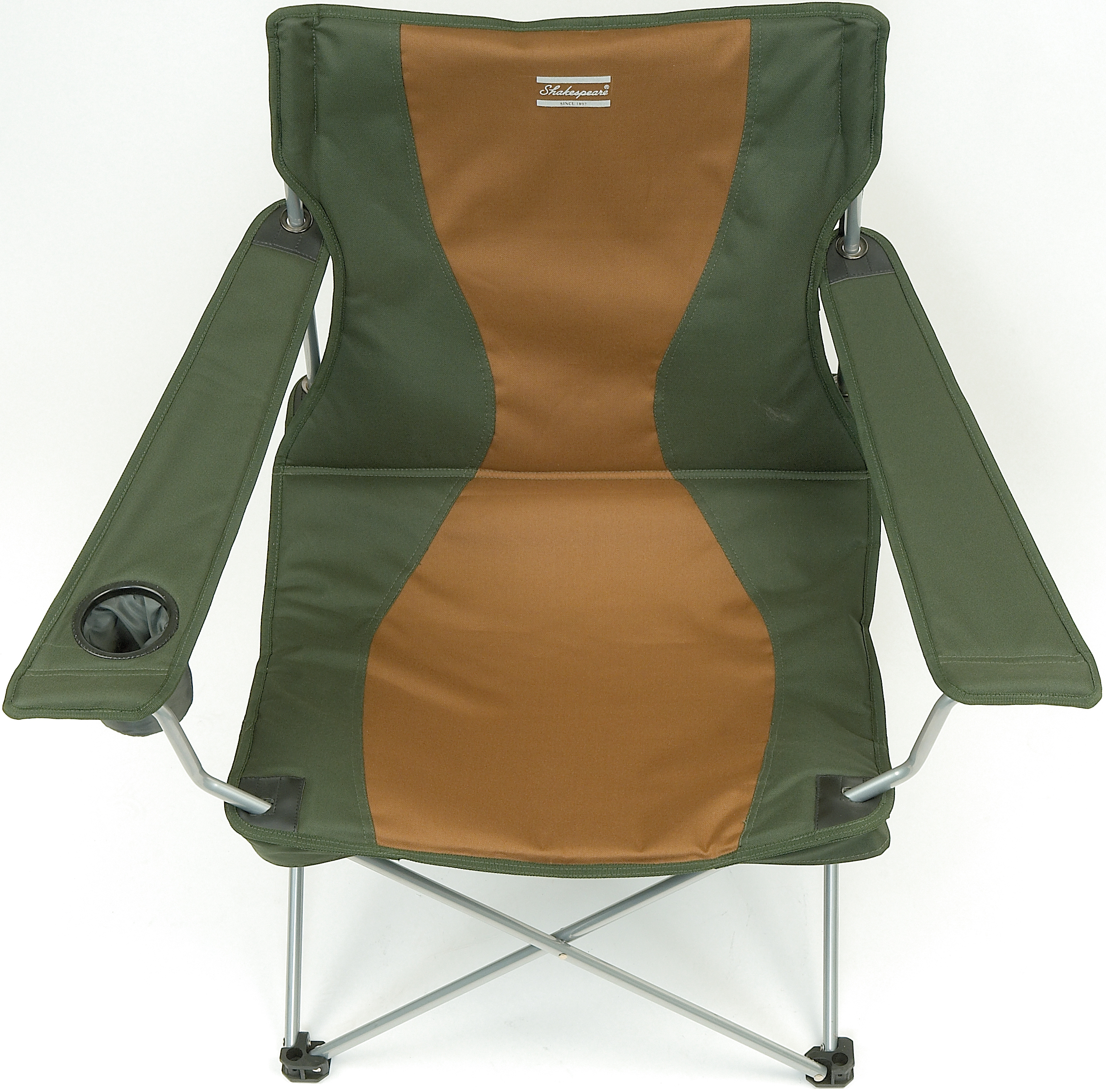 Shakespeare Deluxe Folding Armchair – Glasgow Angling Centre