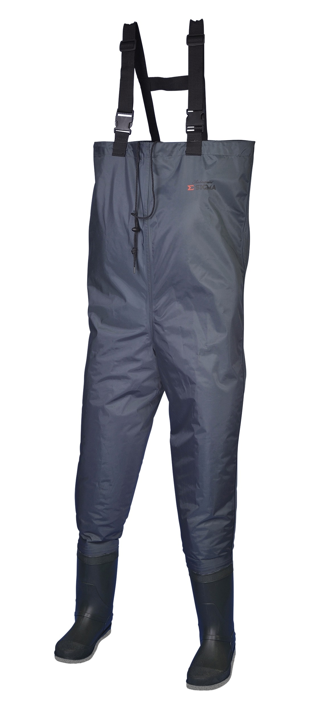 Shakespeare sigma nylon chest waders felt sole glasgow for Chest waders for fishing
