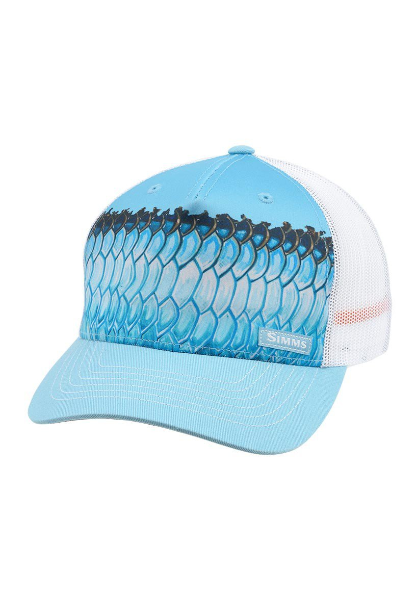 Simms 5 panel trucker cap glasgow angling centre for Simms fishing hat