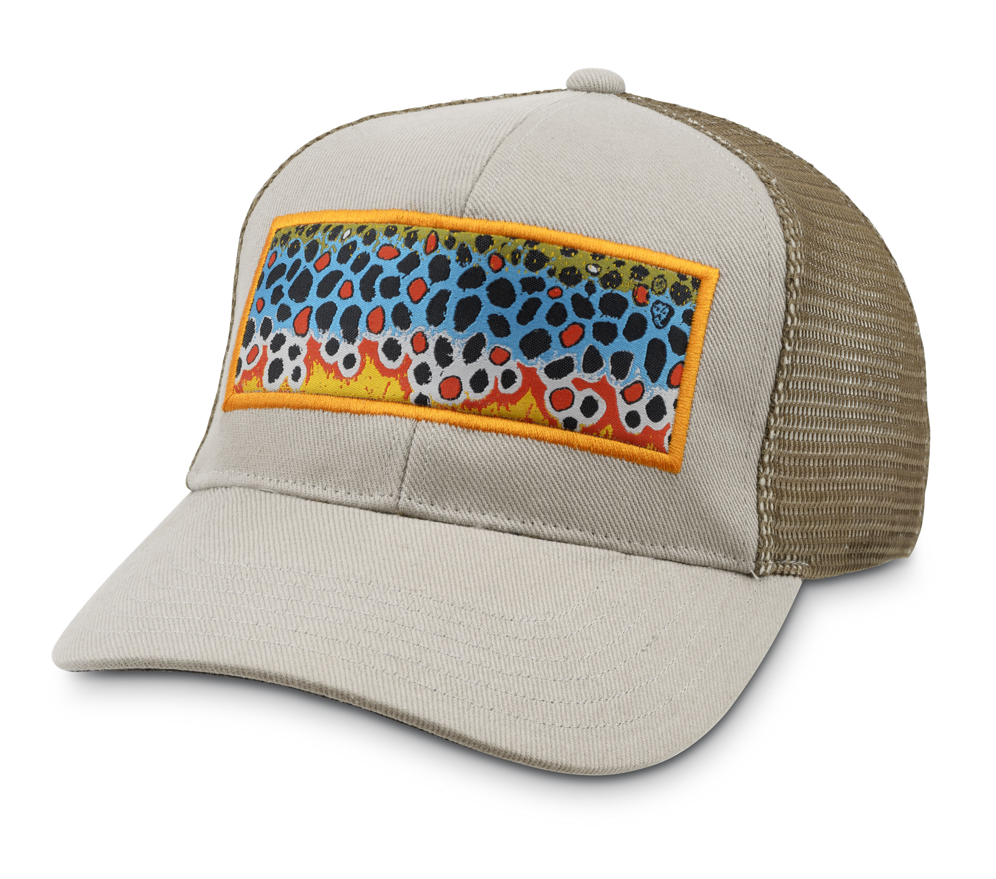 Simms artist series trucker cap glasgow angling centre for Simms fishing hat